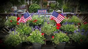 Graff Gardens & Farm 4th of July Display