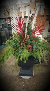 Custom planter