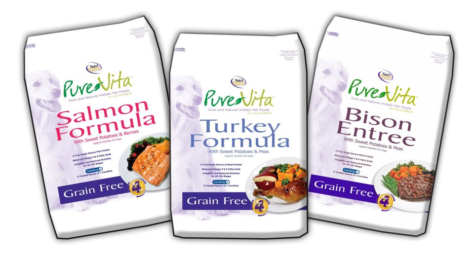 Pure Vita Grain Free Bison Dog Food